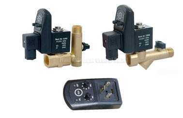 16bar 5mm Brass Timer Automatic  Drainer With Strainer Filter and Drainage Valve