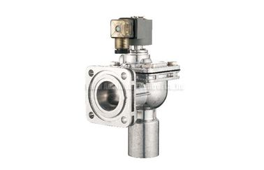 ประเทศจีน Flange Type Remote Solenoid Pulse Jet Valve , Right Angle Pulse Control Valve ผู้จัดจำหน่าย