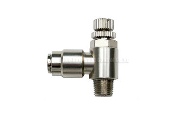 ประเทศจีน 4mm - 16mm Brass One Touch Push-in Fitting Slot Type , Pneumatic Tube Fittings ผู้จัดจำหน่าย